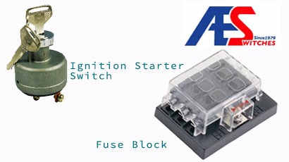 Ignition Starter Switch, Fuse Block for Switch & Harness made by Top Quality Auto Electric Products Co., Ltd. 乾輝企業有限公司 – MatchSupplier.com