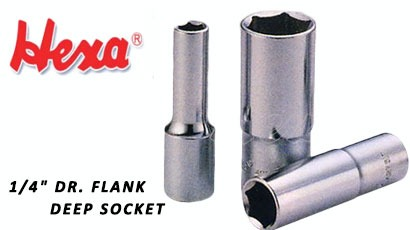 "1/4"" Dr. Flank Deep Socket for Repair Tool Set / Kit made by LIU HUNG INDUSTRIAL CO., LTD. 六宏工業股份有限公司 – MatchSupplier.com"