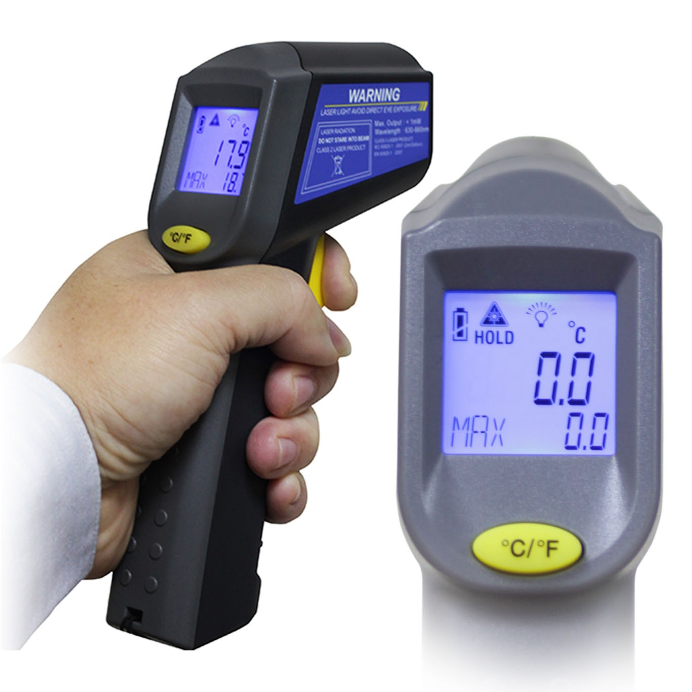 Industrial Machine / Equipment Infrared Thermometer for Testing Equipment made by ECPAL VEHICLE CO., LTD. 威爾可有限公司 - MatchSupplier.com