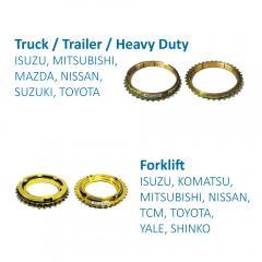 Truck / Trailer / Heavy Duty Synchronizer Ring for Transmission Systems made by FITORI INDUSTRIAL CO., LTD. (FU-SHEN) 馥勝工業股份有限公司 - MatchSupplier.com