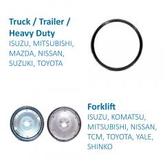 Truck / Trailer / Heavy Duty Flywheel for Transmission Systems made by FITORI INDUSTRIAL CO., LTD. (FU-SHEN) 馥勝工業股份有限公司 - MatchSupplier.com