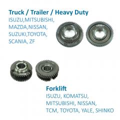 Truck / Trailer / Heavy Duty Speed Gears for Transmission Systems made by FITORI INDUSTRIAL CO., LTD. (FU-SHEN) 馥勝工業股份有限公司 - MatchSupplier.com