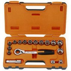 Automobile Socket Wrench Set for Repair Tool Set  made by Hexa Tools  CO., LTD. 六宏工業股份有限公司 - MatchSupplier.com