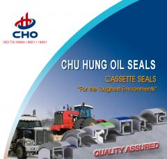 Agricultural / Tractor Cassette Seal for Rubber, Plastic Parts made by CHU HUNG OIL SEAL IND. CO., LTD. 鉅鋐油封工業股份有限公司 - MatchSupplier.com