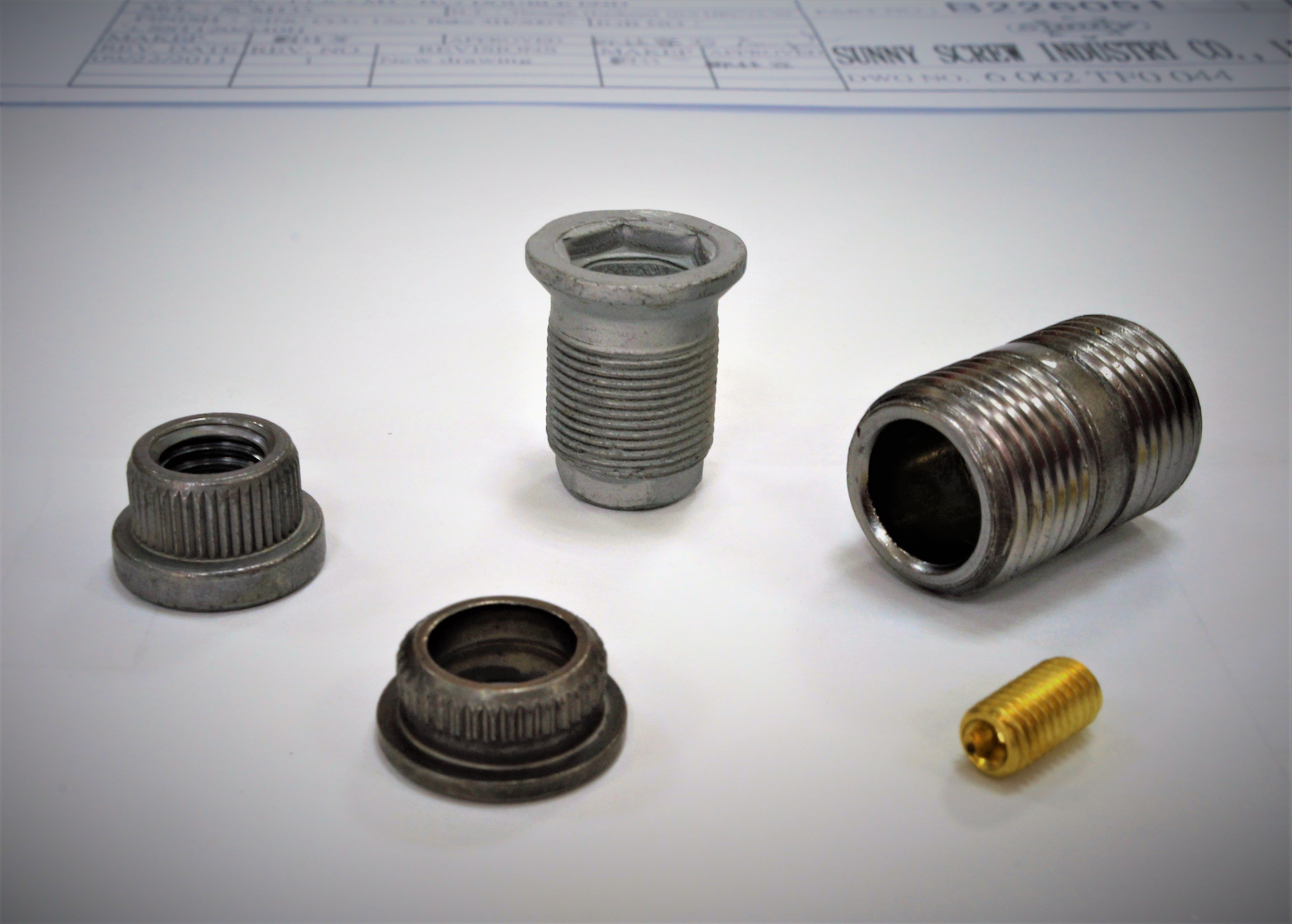 Truck / Trailer / Heavy Duty Nuts for Vehicle Fastener made by Sunny Screw Industry 三能螺栓工業股份有限公司 - MatchSupplier.com