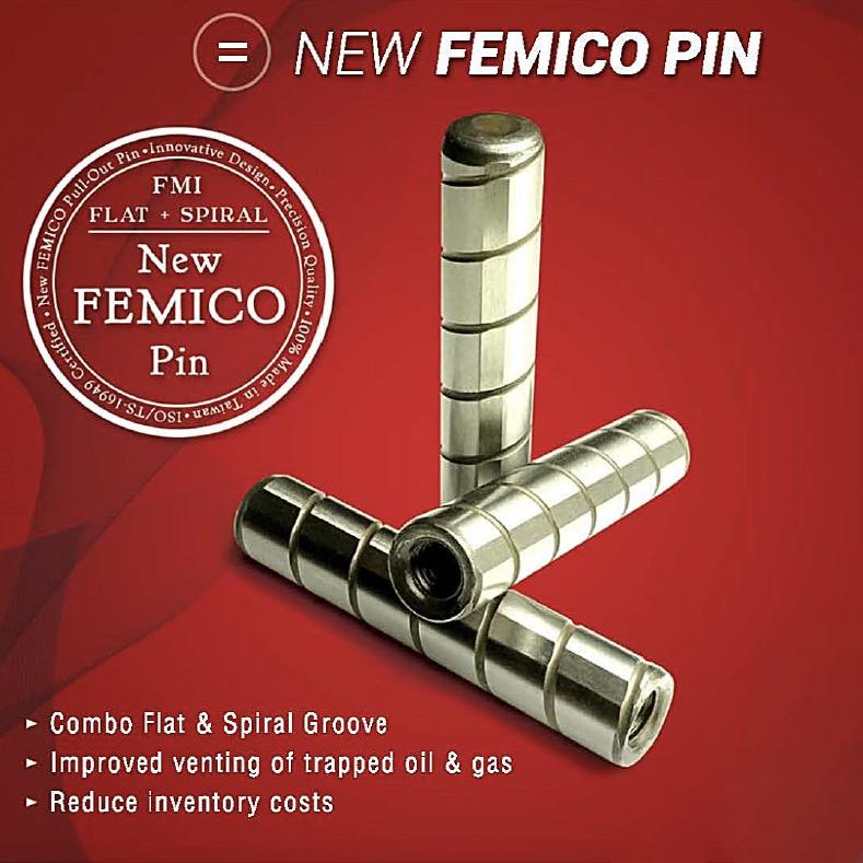 Bus Pin for Vehicle Fastener made by FEMICO FAREAST METAL INTL. CO.LTD. 億萬年貿易股份有限公司 - MatchSupplier.com