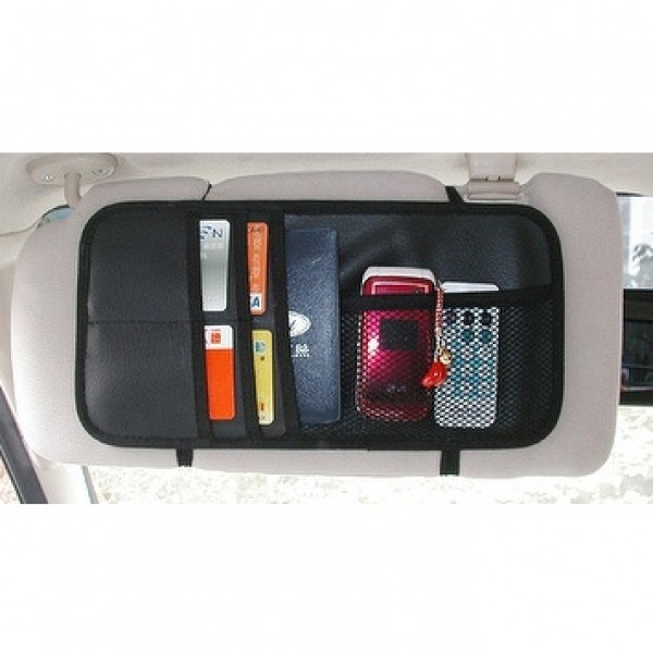 Automobile Sun Visor Storage Bag for Auto Interior  Accessories made by CHAN TA FENG AUTO PRODUCTS CO., LTD. 展達豐汽車用品有限公司 - MatchSupplier.com