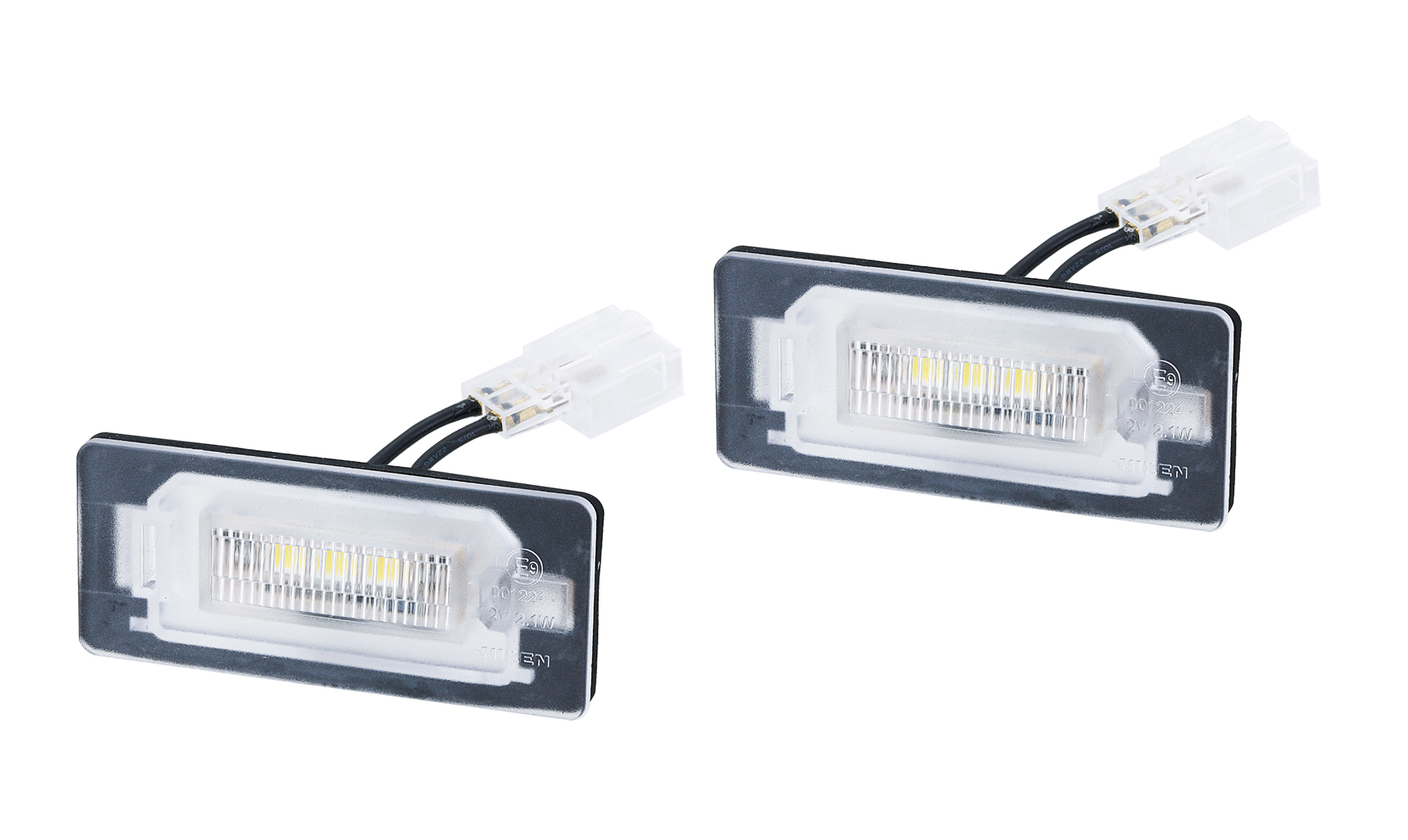 Truck / Trailer / Heavy Duty LED License Lamp for Lighting Series made by NIKEN Vehicle Lighting Co., LTD. 首通股份有限公司 - MatchSupplier.com