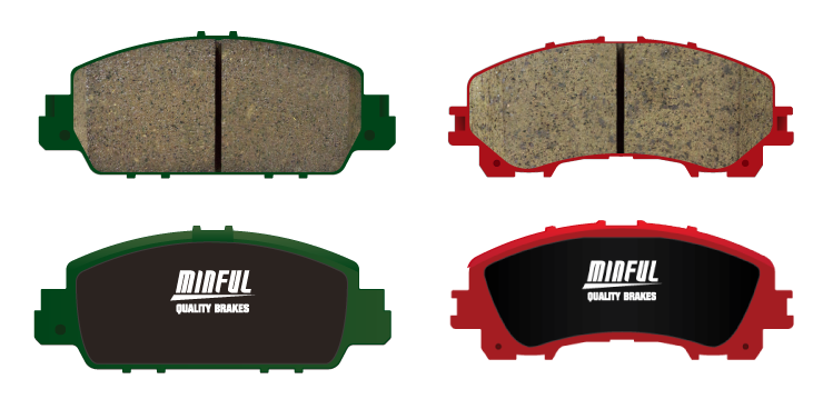 Automobile  Brake Pad for Brake Systems made by Minful Friction LTD. 明豐國際興業有限公司 - MatchSupplier.com