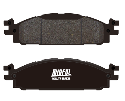4x4 Pick Up  Brake Pad for Brake Systems made by Minful Friction LTD. 明豐國際興業有限公司 - MatchSupplier.com