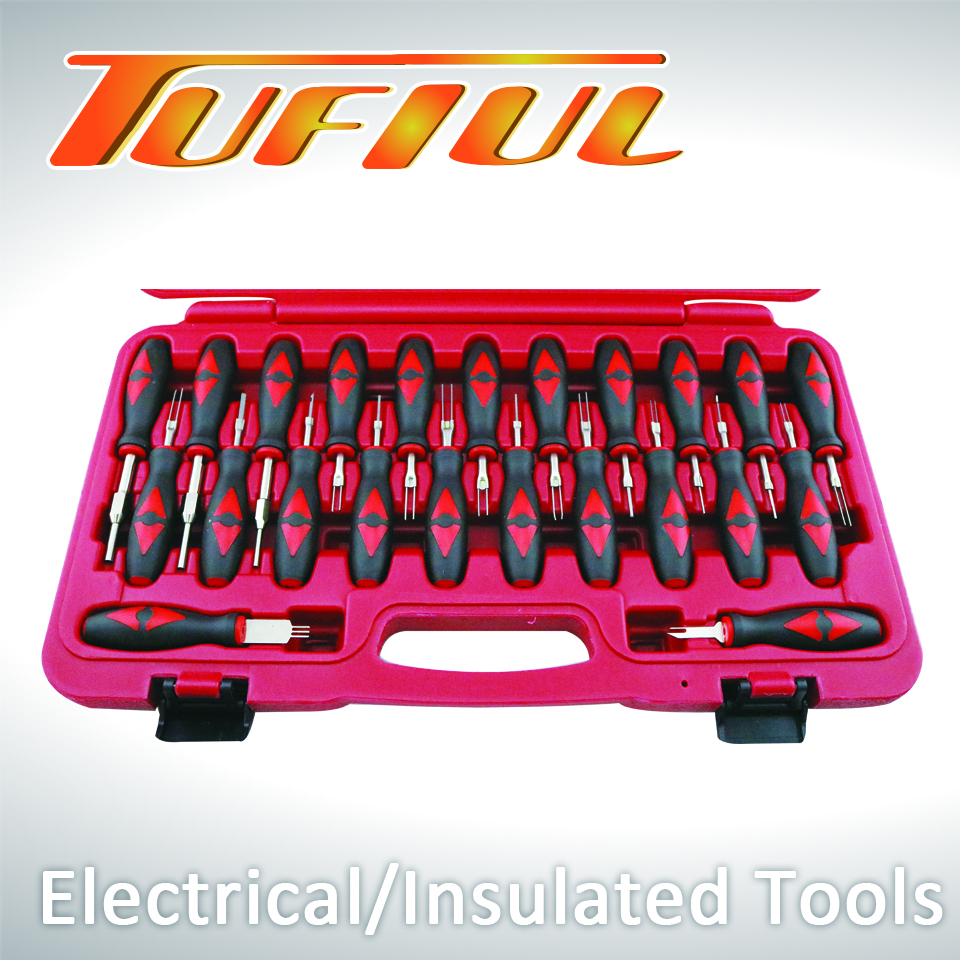 Automobile Terminal Release Tool Set for Repair Tool Set / Kit made by Chian Chern Tool Co., Ltd. 阡宸工具有限公司 - MatchSupplier.com