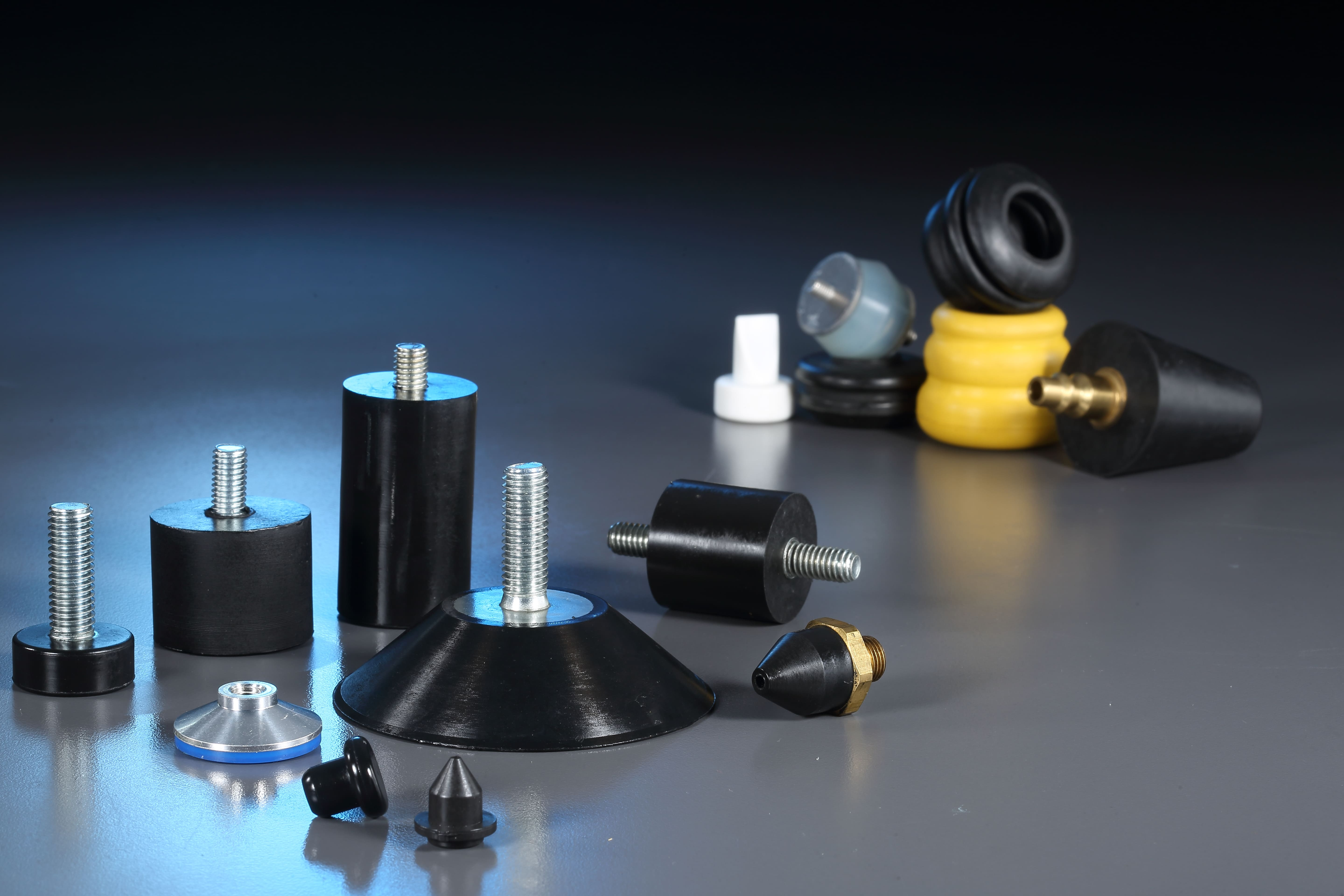 Bus Anti-Vibration rubber,spigot,nozzle for Rubber, Plastic Parts made by Yee Ming Ying Co., LTD. 昱銘穎有限公司 - MatchSupplier.com