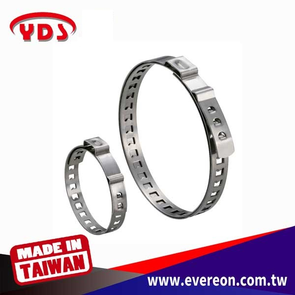 Truck / Trailer / Heavy Duty Hose Clamps for Transmission Systems made by YDS Evereon Industries INC 永德興股份有限公司 - MatchSupplier.com