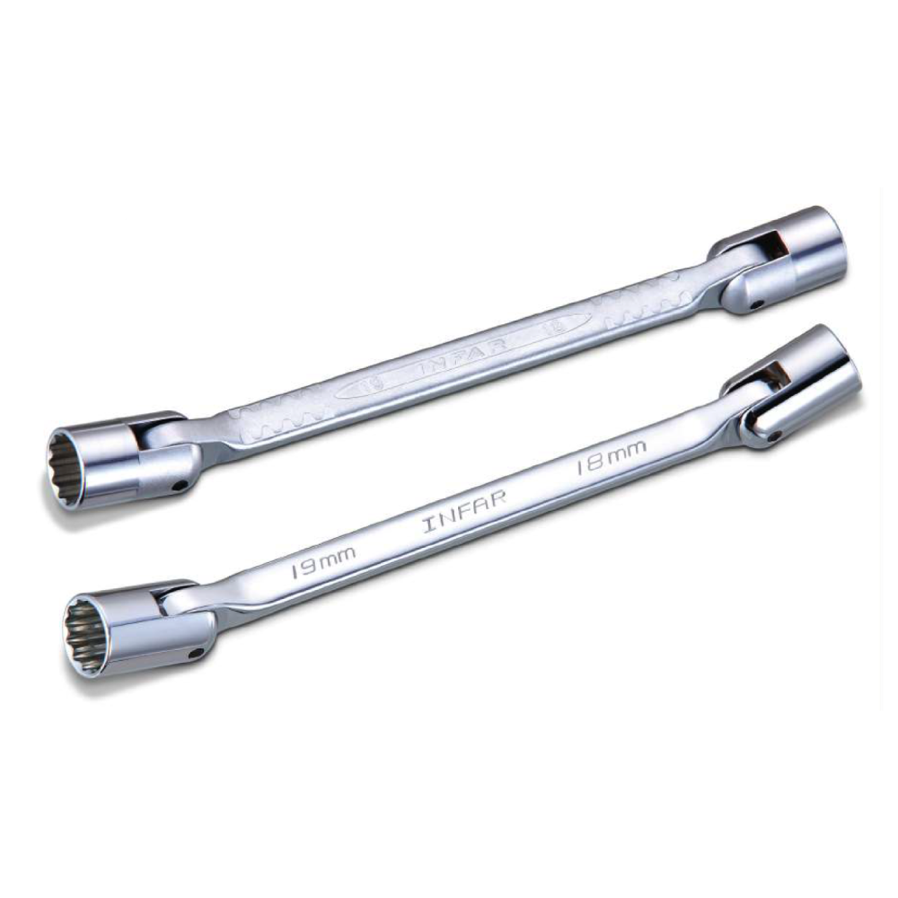 Truck / Agricultural / Heavy Duty Double Flexible Socket Wrench for Repair Hand Tools made by INFAR INDUSTRIAL CO., LTD. 	英發企業股份有限公司 - MatchSupplier.com