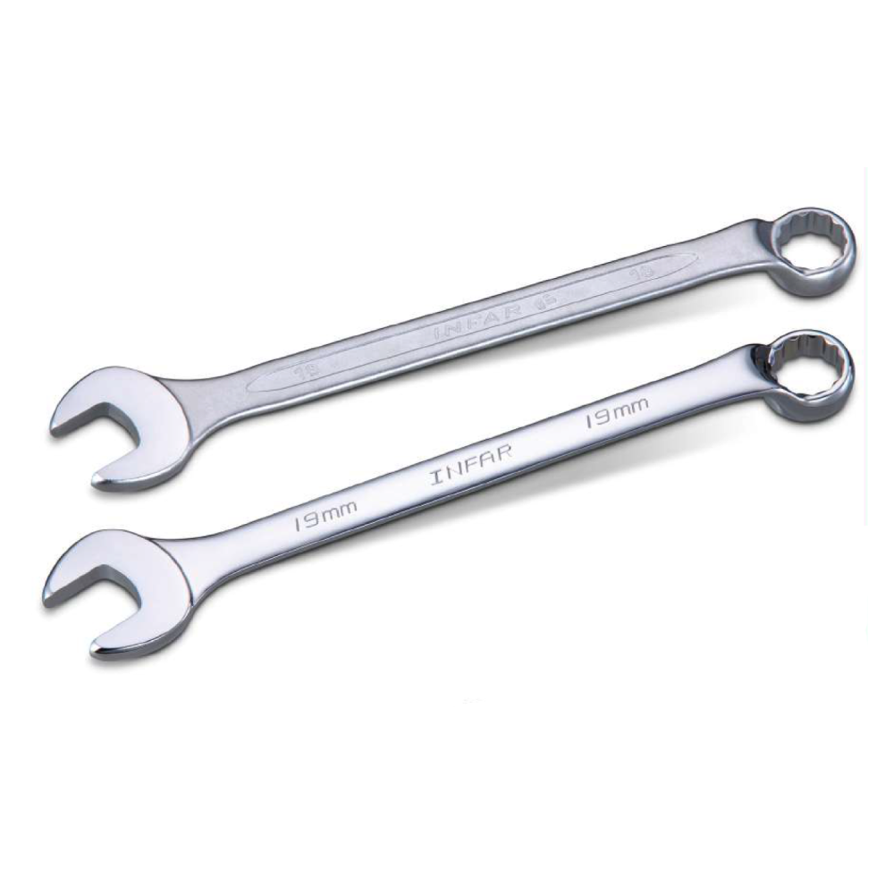Industrial Machine / Equipment Offset Combination Wrench for Repair Hand Tools made by INFAR INDUSTRIAL CO., LTD. 	英發企業股份有限公司 - MatchSupplier.com