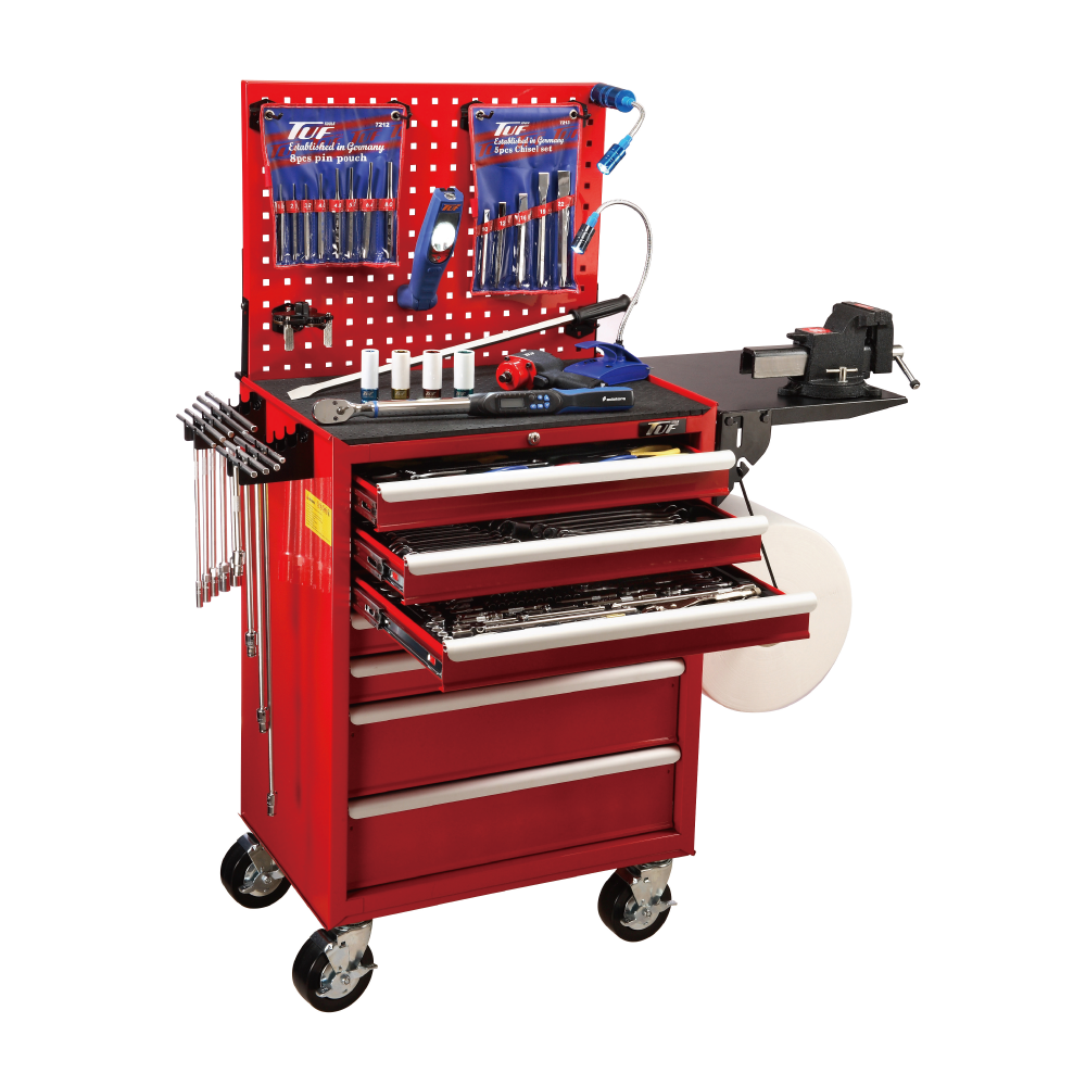 Automobile Tool Kit Trolley for Vehicle Repair Tools   made by TUFIUL Chian Chern Tool Co., Ltd. 阡宸工具有限公司 - MatchSupplier.com