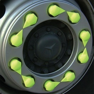 Bus Wheel Nut Indicators for Car Safety & Security made by SHINIEST INDUSTRIES, INC. 冠勉企業有限公司 - MatchSupplier.com