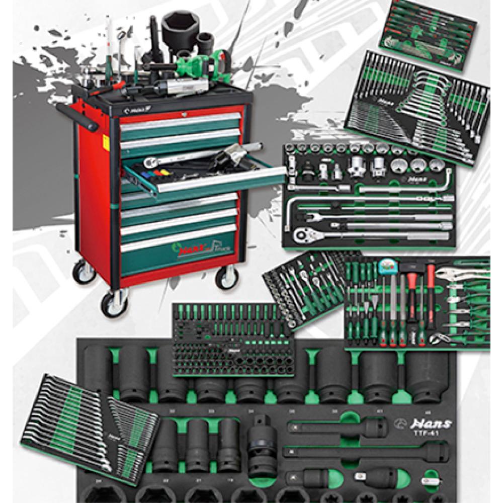 Automobile Tool Kit Trolley for Repair Tool Set  made by HANS tool industrial Co., Ltd. 向得行興業股份有限公司 - MatchSupplier.com