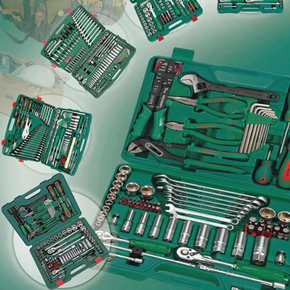 Automobile General Tools Kit for Repair Tool Set  made by HANS tool industrial Co., Ltd. 向得行興業股份有限公司 - MatchSupplier.com
